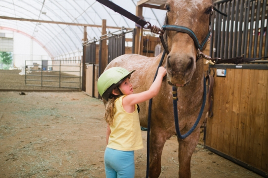 Girl and a Pony