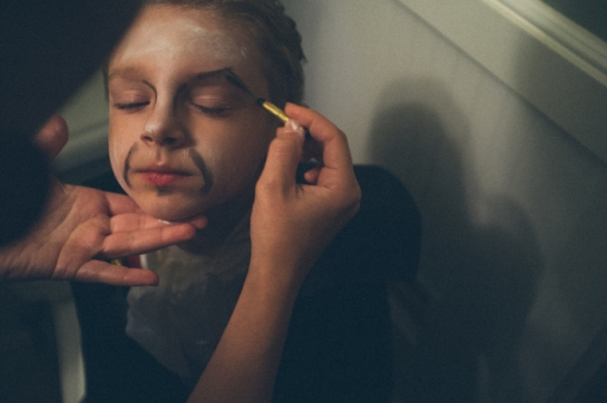 boy vampire make up
