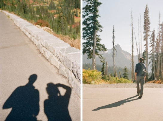hiker shadows