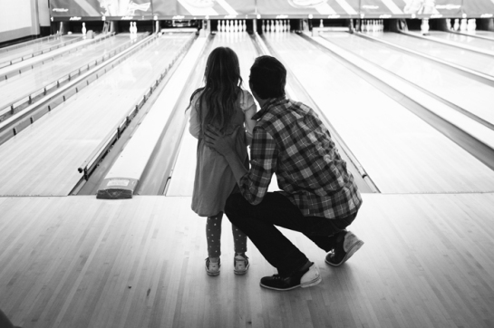 dad and daughter bowling portland oregon