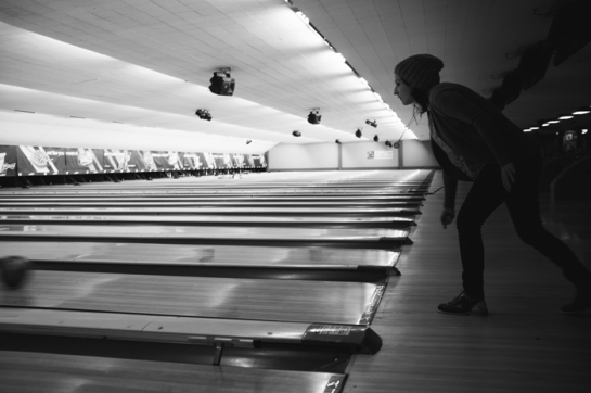 woman bowling portland oregon