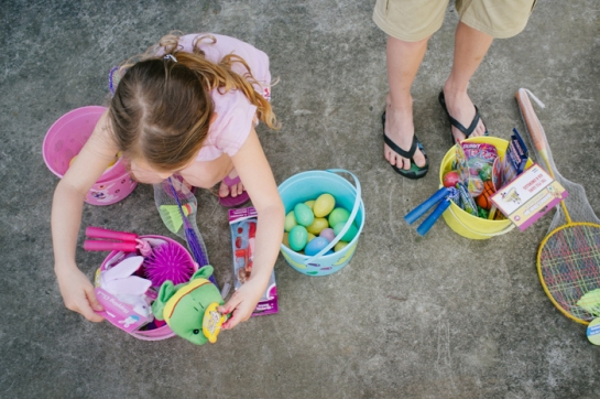 kids easter egg hunt in portland oregon