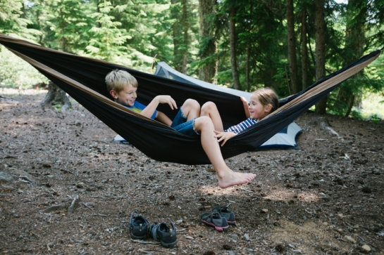 camping at clear lake oregon with kids