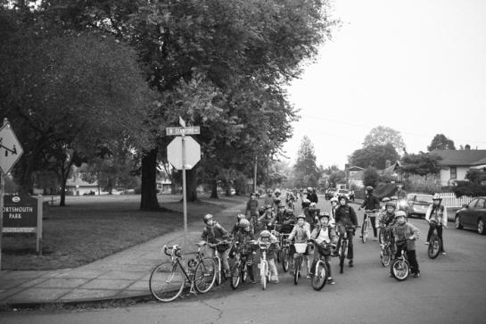 bike to school portland 2013
